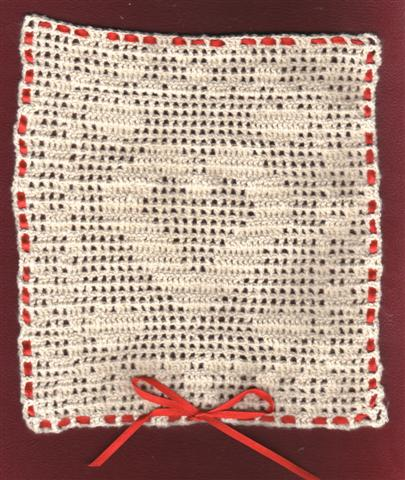Filet Crochet Heart by Diane