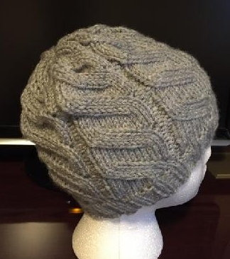 Second view of the Hat by Brenda Glenn