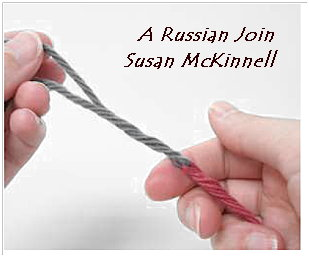 Russian Join - technique offered by Susan McKinnell.