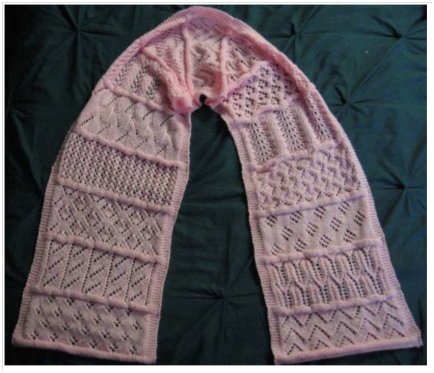 Sampler Scarf_SMcKinnell
